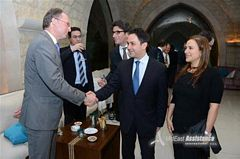 Mr.Lex Mentink (CEO of Eurocross) & Minister Baroud