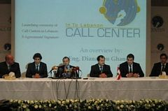 Launching ceremony of Call Centers in...